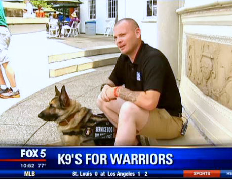 FOX 5 DC - K9s for Warriors saves two lives